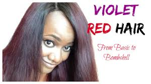 show me hair colors diy how to violet red hair color loreal feria power violet