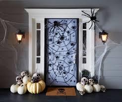 halloween front door decorations bat hallway door decoration for