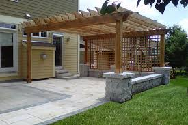 How To Build A Pergola Over A Patio by Mandinec Group Landscaping Inc Our Projects
