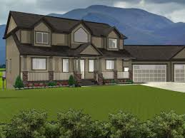 Walk Out Basement House Plans by 2 Story House Plans With Walkout Basement 2017 House Walkout Home