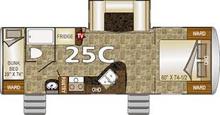 20 Foot Travel Trailer Floor Plans Northwood Nash Travel Trailers
