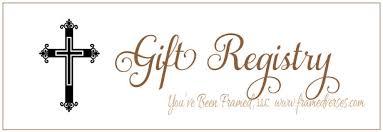 gift register gift registry framed verses framed personlized bible verses