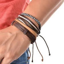 leather bracelet sets images 44 unique bracelet stack sets for men ring to perfection jpg