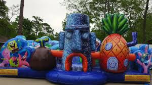 bounce house rentals houston spongebob toddler bounce house houston tx 281 606 5867 sky