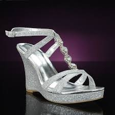 silver wedding shoes wedges best 25 wedge wedding shoes ideas on bridal wedges