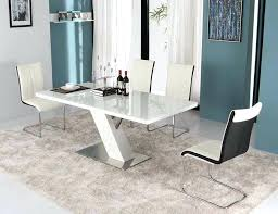 Lacquer Dining Room Sets Black Lacquer Dining Room Set Modern White Lacquer Dining Table