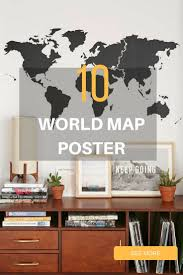 best 25 world map for wall ideas on pinterest world map wall 10 world map poster art for wall