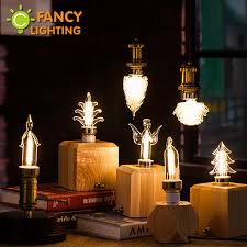 Fancy Chandelier Light Bulbs Led Light Bulb E27 E14 Decorative Led Lamp For Chandelier 3w 220v