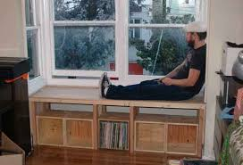 Storage Bench Seat Window Bench Seat Perfect Window Bench Seat With Storage Build