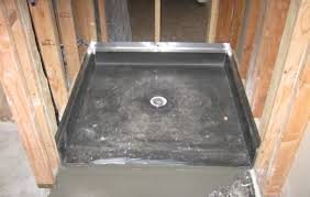 How To Level A Bathroom Floor Shower Amazing How To Install Tile Shower Floor Over Concrete