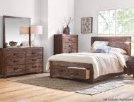 warner queen bed art van furniture