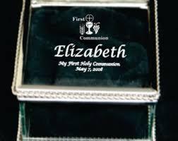 communion jewelry box jewelry box etsy
