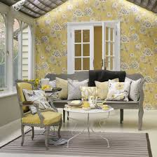 yellow livingroom grey and yellow living room decorating clear