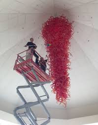 Chihuly Glass Chandelier The Gonzaga Red Chandelier Gonzaga University