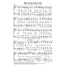 great sheets how great is our god pdf song sheets