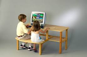 Desk For Kid Buddy Computer Desk Hutch Sold Separately