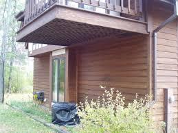 Cantilevered Deck   cantilevered deck int l association of certified home inspectors