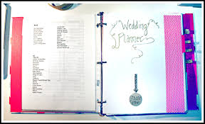 wedding planner packages a d i y wedding binder