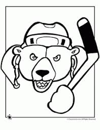 hockey coloring pages woo jr kids activities