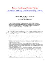 Simple Power Of Attorney Sample by Other Template Category Page 129 Urlspark Com