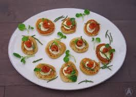 traditional canapes food replicator bularian canapes blini