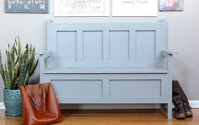 ana white storage bench featuring jen woodhouse diy projects