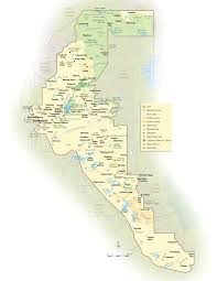 California Zip Code Map by California Gold Country Map California Map
