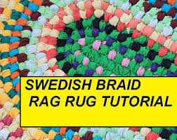Braided Rugs Instructions Rag Rugs Etsy