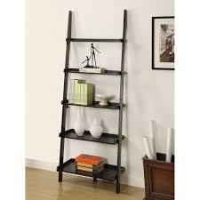 Sauder 4 Shelf Bookcase by Astonishing How To Make A Ladder Bookcase 42 On Sauder 5 Shelf