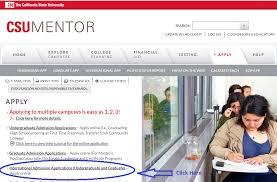 csu mentor application steps for undergraduates international
