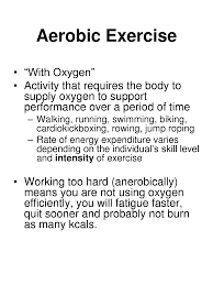 examples of aerobic and anaerobic exercise gluten free meal plan