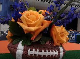 Football Centerpieces Advantage Destination U0026 Meeting Services Floral Centerpieces