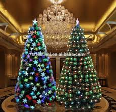 fiber optic tree lights decoration