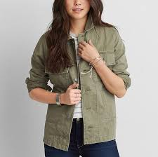 American Eagle Parka Aeo Military Shirt Jacket American Eagle Outfitters As Worn By
