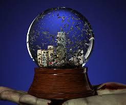 apocalyptic snow globe