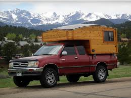 Truck Bed Trailer Camper The Tiny Hütte Hut Is A Wonderful Wooden Teardrop Camper For Two