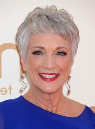 hair sules for thick gray hair randee heller short gray hair ny hairstyle ideas 5 gorgeous