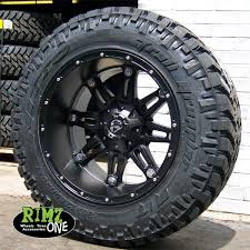 Customer Choice This Mud Tires For 24 Inch Rims 20x10 Fuel Hostage D531 Wheels Matte Black Machined W Nitto Trail