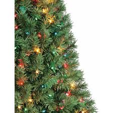 artificial tree pre lit 4 indiana spruce multi lights