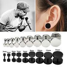ear stud men men s earrings studs ebay