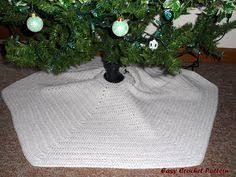 quick u0027n easy christmas tree skirt crochet tree skirts