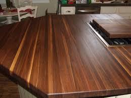 black butcher block kitchen island interior design bamboo counter tops texture make your kitchen look