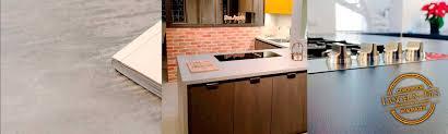 plan de travail cuisine resistant chaleur plan de travail béton ciré la cuisine lancelin fils caen