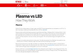 plasma vs led how they work