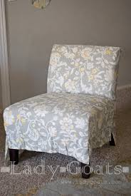 Accent Chair Slipcover Phenomenal Armless Accent Chair Slipcover 95 About Remodel Home