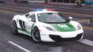 police mclaren mclaren mp4 12c dubai police gta5 mods com
