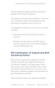Sle Of Certification Letter Of Residence The Road To Va Compensation Benefits 47 638 Jpg Cb U003d1408446593