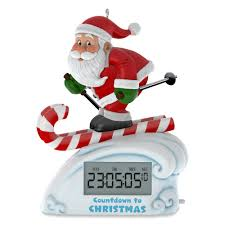 skiing light up countdown to clock 2017 hallmark