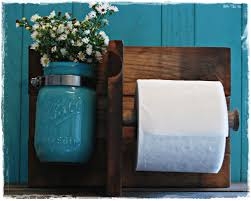 rustic toilet paper holder make the potty room smell good with
