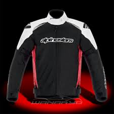 waterproof motorcycle jacket black red white gunner waterproof jacket 3206813 132 l by alpinestars